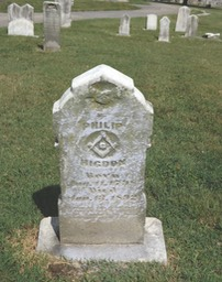 01 Philip tombstone at Eastern Cemetery, Jeffersonville, Indiana