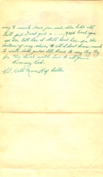 1943-06-29 - letter H - p. 2 - 2 pages - 3.25 X  6.25 bifolded on 6.125 X 10.375 paper