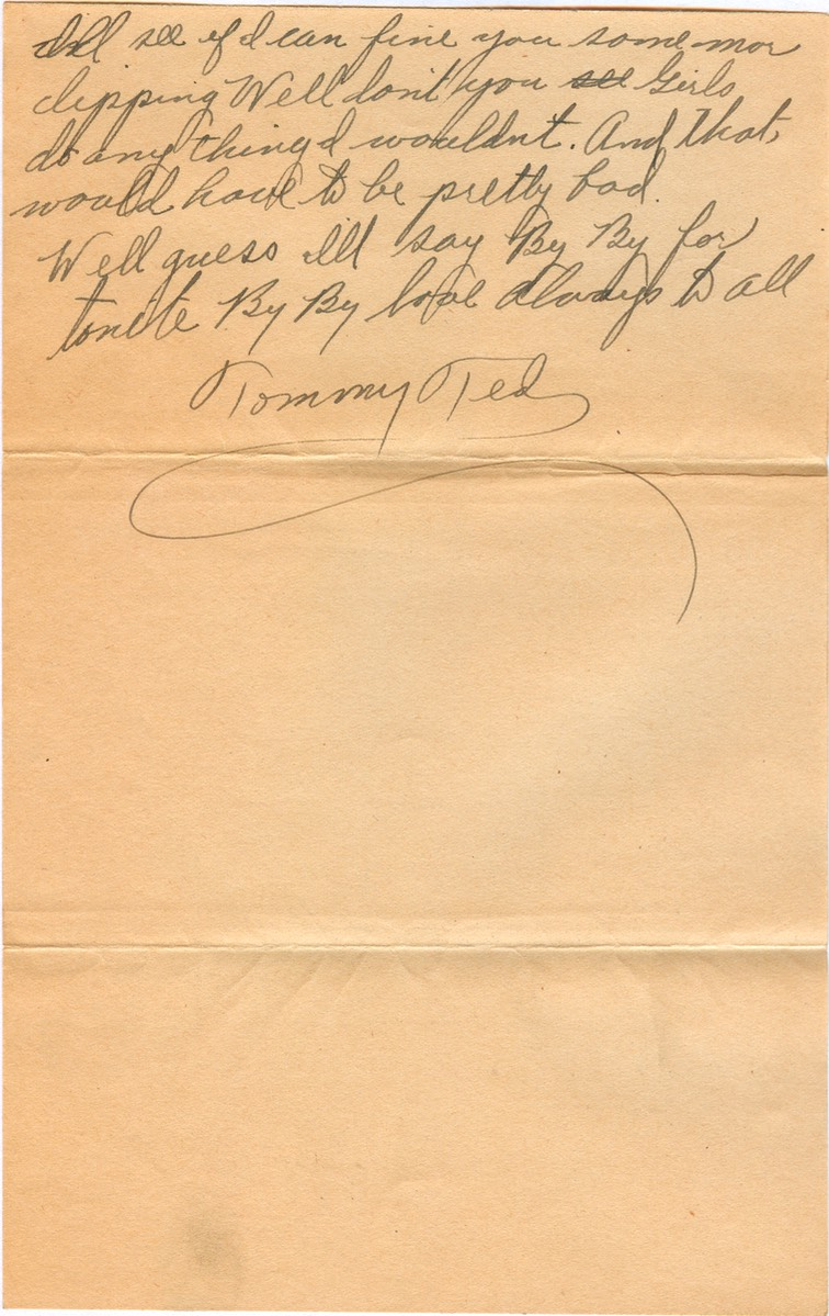 1945-01-06 - letter L - p.3 - 3 pages - 3.25 X  6.125 bifolded on 6.125 X 9.625 paper
