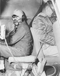 1958 - Mary Carmel & Tom ready to engage in high altitude aerial photography