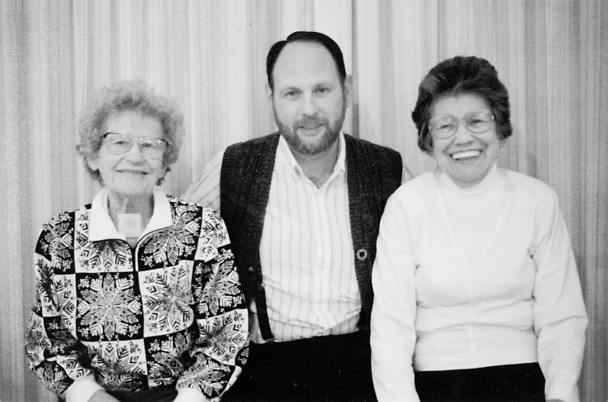 1990 Mary Frances, Frank, and Mary Carmel