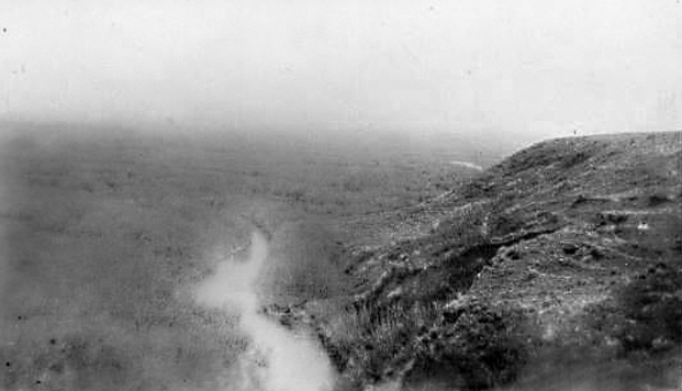 Another view of Higdon's lease near Manyberries
