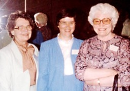 Bettina Higdon, Sarah Peyton, and Opal Willis