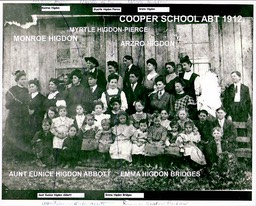 Cooper School abt 1912, Benton Co. via Ronnie S.