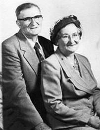 David Arthur Higdon with his wife