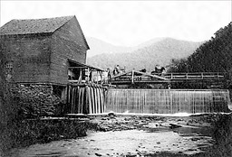 Higdon Gristmill in Macon County, NC