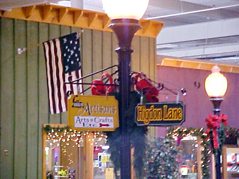 Higdon Lane at the Whistle Stop Mall in Franklin