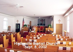 Higdonville Baptist Church