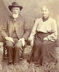 Joshua Higdon and his wife Louisa Annie Coggins