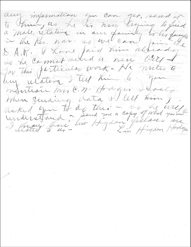 Linnie 1936 letter-2