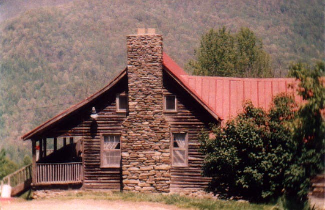 Mincey Home at Ellijay, North Carolina