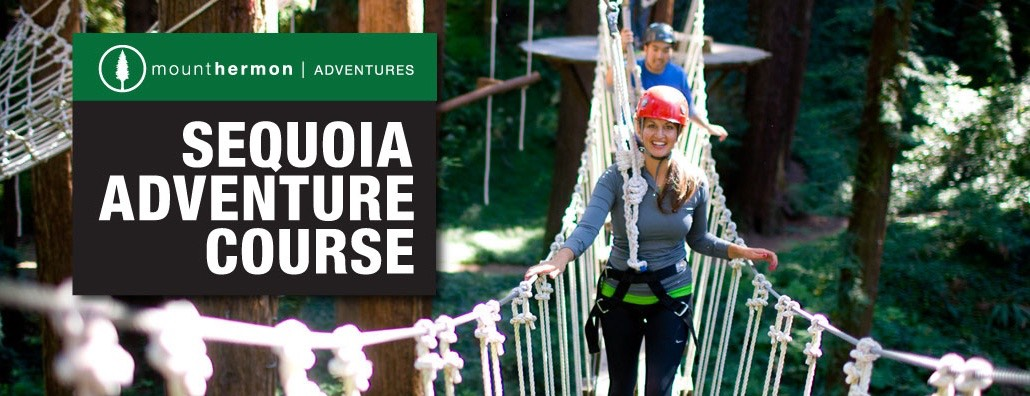 Mt Hermon Sequoia Adventure Course