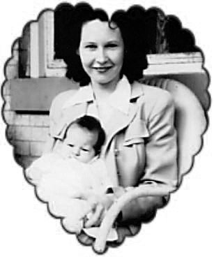 Nettie P. Higdon with Bonnie B-W