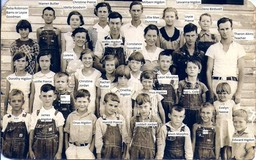 New Friendship School abt 1933,Carroll Co. via Ronnie S