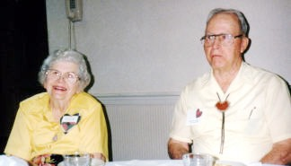 Nina and Richard Vaughan from New Mexico