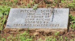 Ritchie School marker