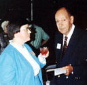 Sarah Peyton and Dr. Bob Higdon