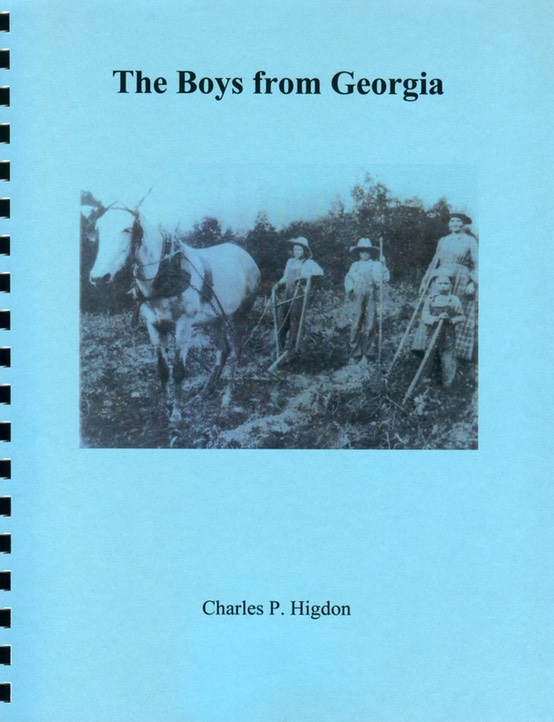 The Boys from Georgia cover 2