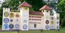 Welcome to St. Augustine Sign